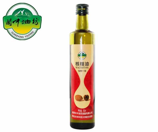 关中油坊核桃油250ml--食用油哪种好|中国食用油信息