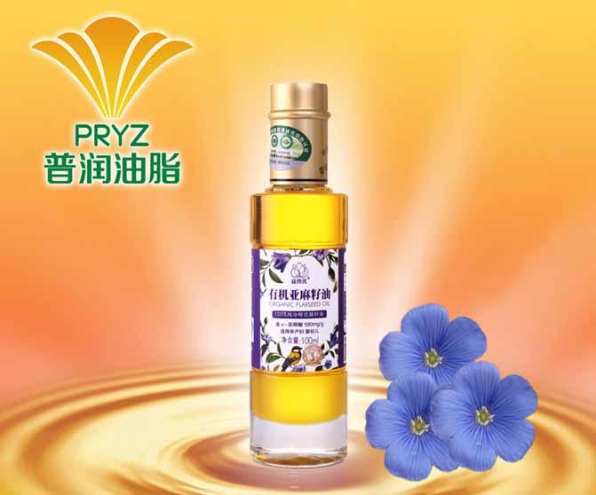 益而优有机亚麻籽油100ml--食用油哪种好 中国食用油