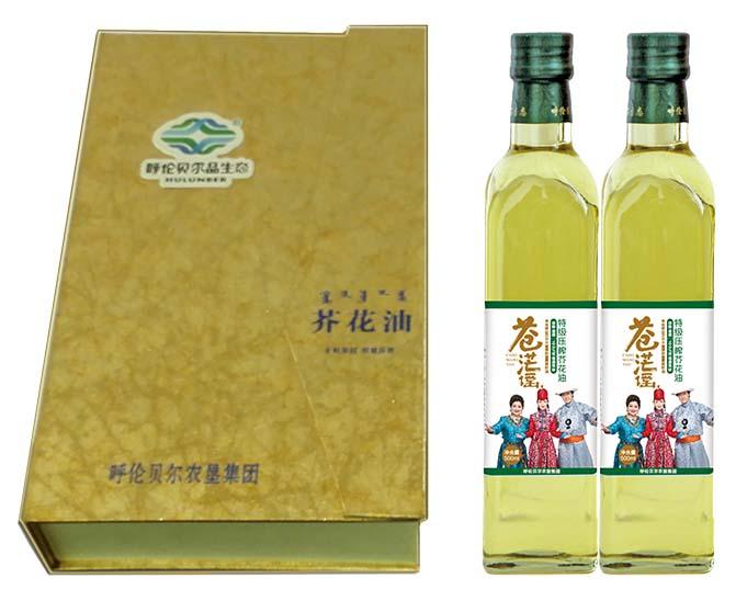 苍茫谣芥花油臻品礼盒--食用油哪种好|中国食用油